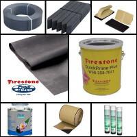 Tófólia, PVC tófólia és EPDM tófólia, geotextília és gumifólia