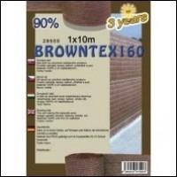 ÁRNYÉKOLÓ HÁLÓK BROWNTEX barna színű belátásgátló háló legjobb áron.