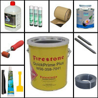 EPDM, PVC ragasztók, kiegészítők, tóperem