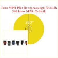Toro 360 fokos MPR fúvókák