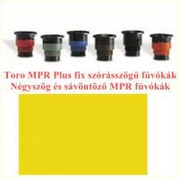 Négyszög és sávöntöző MPR fúvókák