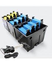 CBF- 16000 átfolyós szűrő sunsun 72W UVC-Ti lámpával